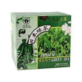 Tianhushan - Thé Vert Japonais 200G (100 Sachets)