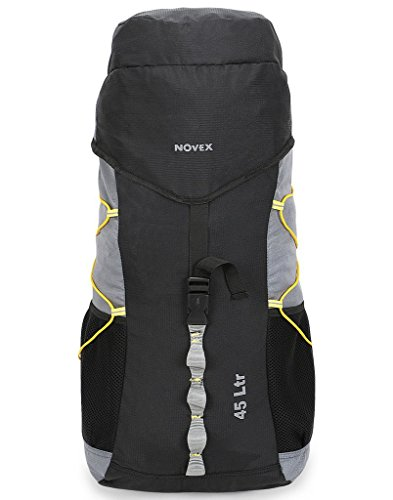 Novex Rucksacks 45 Litre Grey Fleet Hiking bag