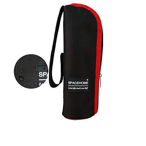 WANGYG Lunch Taschen Lunchbox Tasche Isolationsbeutel Lunchbox Lunchbag mit Reisbeutel Dicke Aluminiumfolie Isolationspaket Standard schwarzer Becher