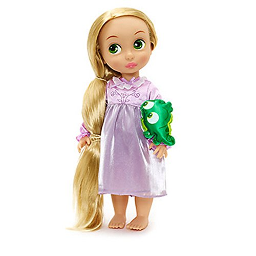 Disney Tangled Rapunzel oficial 38cm animador del niño muñeca con accesorios Pascal