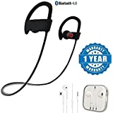 Captcha QC10 Jogger Wireless Bluetooth Headset With Earpod With Mic, Sound Controller, Call Receiver And Call End Button Compatible With Xiaomi, Lenovo, Apple, Samsung, Sony, Oppo, Gionee, Vivo Smartphones (One Year Warranty)