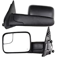 Towing Mirrors for 02-08 Dodge Ram 1500