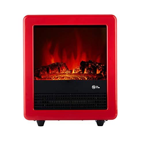 DENGSH estilo europeo Sencillo Calentadores,la Velocidad Caliente Chimenea Eléctrica Calefactor Eléctrico,3D...