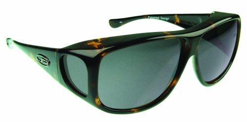 Fitovers Eyewear Aviator Sunglasses (Dark Tortoise