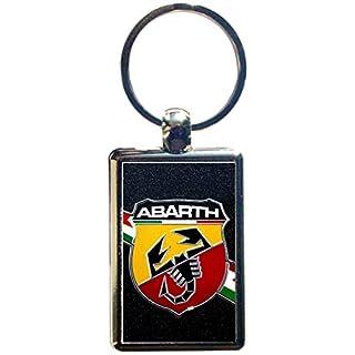 Schlüsselanhänger Stahl Abarth (4° version)