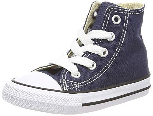 Converse Ctas Core Hi 015860-21-10, Unisex - Kinder Sneaker, Blau (Marine), EU 25