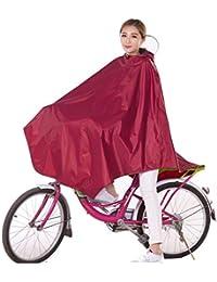 FORTR Home Poncho Bike Raincoat Single Unisex Mountain Bike Impermeable Poncho Aumento del Engrosamiento Estudiantes de