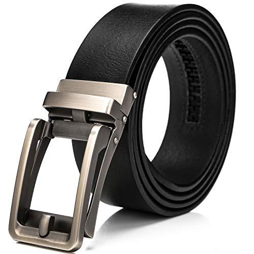 Cinturon con hebilla de los hombres automáticos para trajes y ropa  informal bc7081b4cf3c