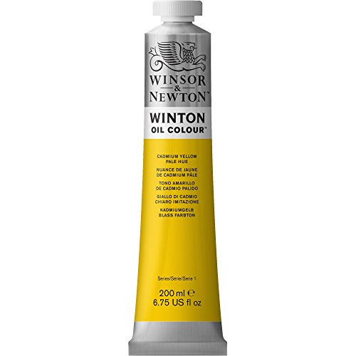 Winsor & Newton Winton 200-Milliliter Oil Paint, Cadmium Yellow Pale Hue [Misc.] (japan import)
