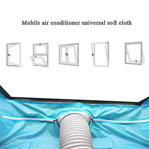Fensterabdichtung für Fensterdichtung for Klimaanlagen und Ablufttrockner Tragbare Klimaanlage und Trockner mit Heißluftstopp - funktioniert mit jedem mobilen Klimagerät