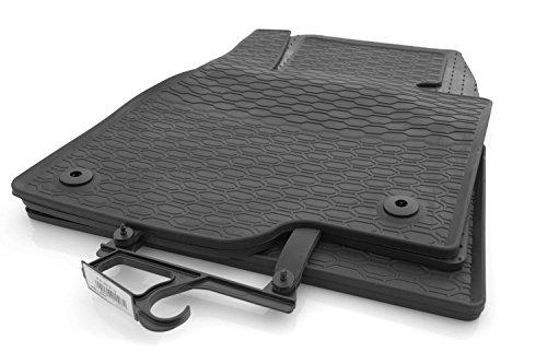 Tappetini in gomma per Mazda 6III Station wagon GJ, qualità originale gomma tappetini auto 4pezzi, nero