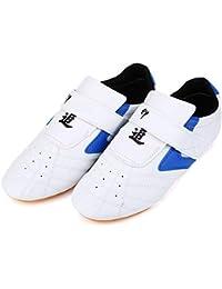low priced 3da7e 11e04 Dilwe Scarpe Taekwondo Traspiranti, Arti Marziali Scarpe da Boxe per  Formazione Kung Fu Taichi Karate