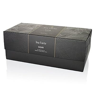 Tea Forte Coffret Black Thé Noir Bio 20 pyramides