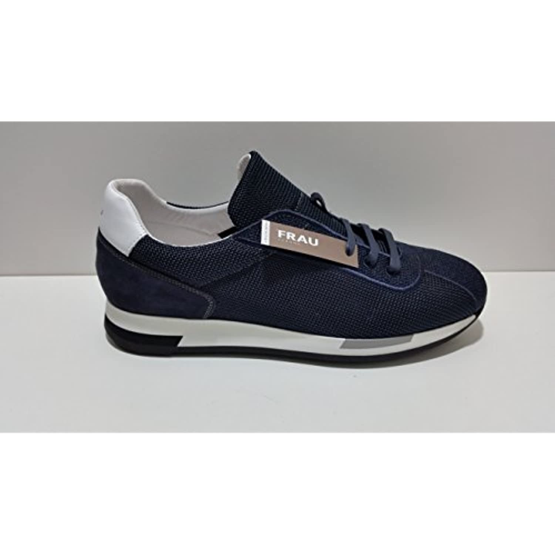 FRBU 23U3 Blu Nr. Sneackers 42 Camoscio e Tessuto Sneackers Nr. Uomo  Parent b0f6f7