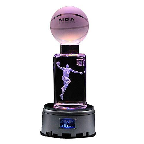 Basketball Lichter NBA Star Crystal Foto Tischleuchten (Foto-basketball)