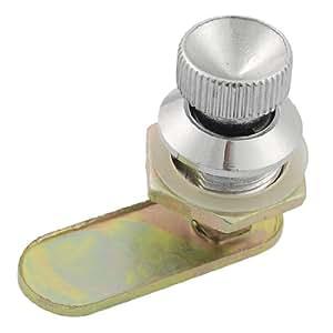 schrank runde knopf 1 7 cm stecker gewinde metall cam lock baumarkt. Black Bedroom Furniture Sets. Home Design Ideas