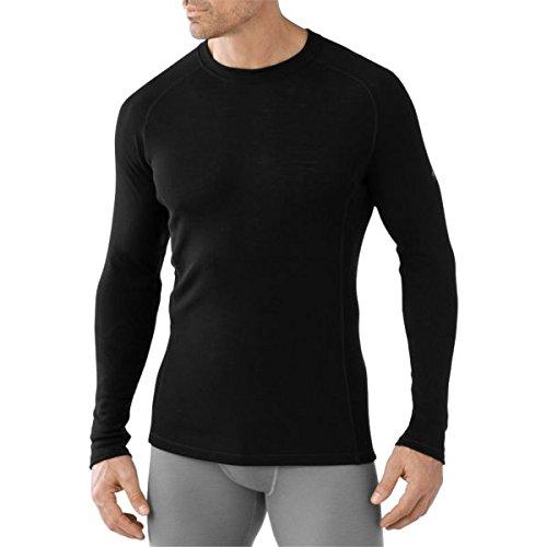 Smartwool Herren Men's Nts Light 200 Crew Funktionsshirt schwarz
