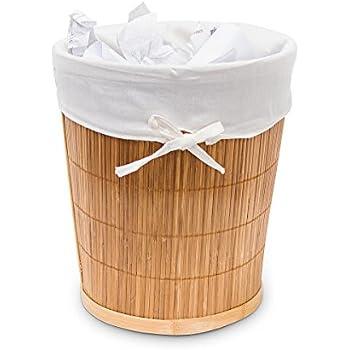 woodluv Abfalleimer Papierkorb Mehrfarbig