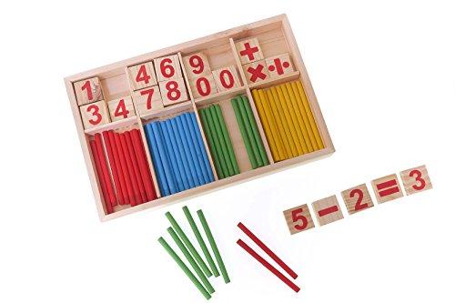 Kalahi | Buntes Mathematik Kinderpielzeug: Rechnen und Spielen mit Zahlen. Spielerisch Grundrechenarten und Zahlen Lernen. Erste Matheaufgaben und logische Zusammenhänge verstehen.