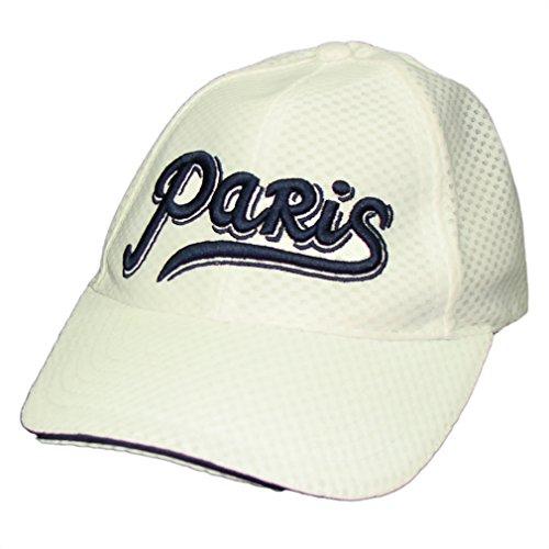 f91db9871972 Souvenirs de France - Casquette Homme Paris - Taille réglable