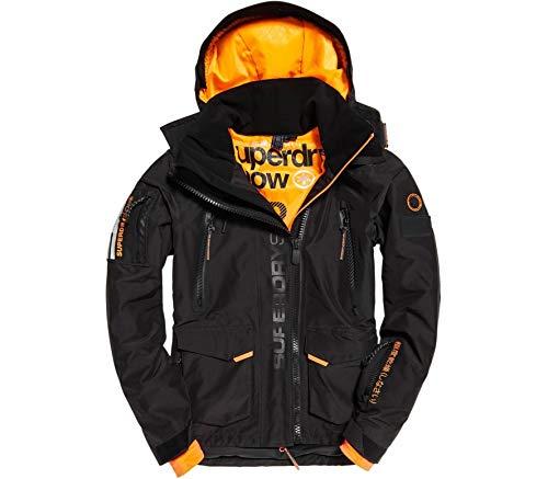 Superdry – Ultimate Snow Rescue Herren Skijacke schwarz S | 05057101588390