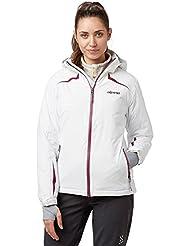 Alpine Mujer Avoriaz chaqueta de ropa al aire libre Blanco, Blanco, 42