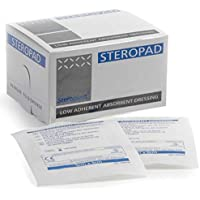 Steroplast Kompresse, saugfähig, steril, 5 x 5 cm, 25 Stück preisvergleich bei billige-tabletten.eu