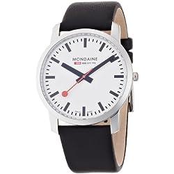 Mondaine Herren-Uhren Quarz Analog A672.30350.11SBB