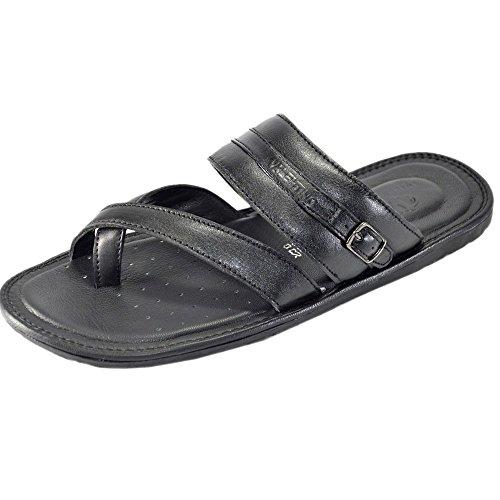 Valentino-Genuine-Leather-JOY01BLK-Mens-Flip-FLop