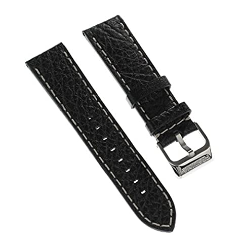 Festina Uhrenarmband Sport Armband-Material Leder schwarz für Festina F16609, F16608 Uhren