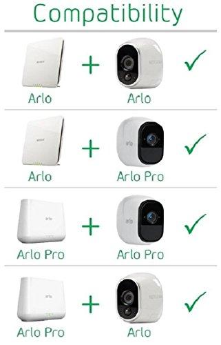 41aBYMgj%2BFL [Bon Plan Netatmo] Arlo - Caméra additionnelle HD 100% sans Fil, Vision Nocturne, Etanche Intérieure/Extérieure - Compatible avec systèmes Arlo, Arlo Pro et Arlo Pro 2 l VMC3030-100EUS