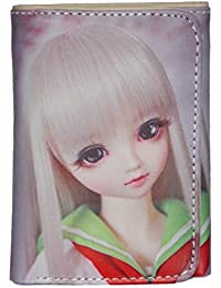 Barbie Print Women Casual Clutch & Girls Wallet-1B