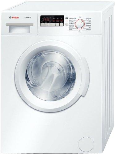 Bosch wab28220waschvoll automatique Clas Sixx 6/A + B 1400tr/min 5.5kg/Blanc/coton Lavage à la main/Extra court Programme de Bosch