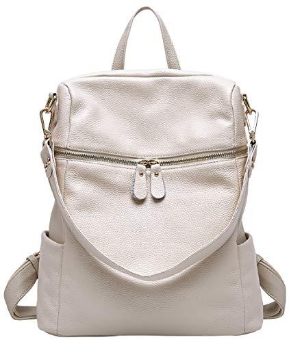Lederrucksack für Damen Handtasche Rucksackbeutel für Damen Handtasche