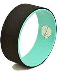 Yoga Wheel© - Happy (Couleurs) + Guide d'utilisation en PDF - L'accessoire indispensable au Yoga