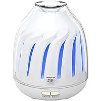 Diffusore di Aromi Ultrasuoni 120ML TaoTronics, Umidificatore, Aromaterapia, Modalità Luce a Pulsazione, 5 Colorazioni LED, 2 Modalità di Vaporizzazione (Funzionamento Silenzioso, Auto spegnimento)