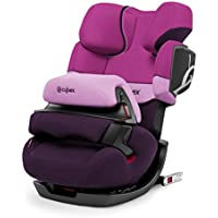 Cybex Pallas 2 Fix - Silla de coche, grupo 1/2/3 (9-36 kg, 9 meses-12 años), con Isofix, color violeta