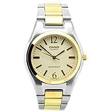 Casio Collection - Reloj de Cuarzo para Hombre, con Correa de Acero Inoxidable, Color