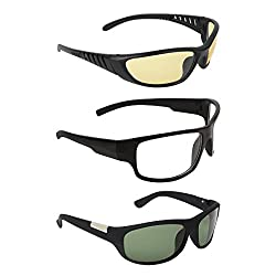 Zyaden COMBO of Night Vision Sunglasses - Combo - 1446