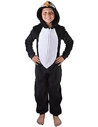 Koo-T Filles Enfants à capuche licorne Peignoir Combinaison déguisement Pyjama confortable idée Présents de Noël