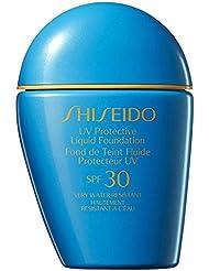 Fond De Teint Liquide Shiseido De Protection Solaire Moyen Ivoire -