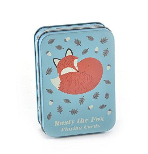 Spielkarten Rusty The Fox in der Dose