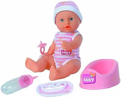 Simba 105037800 Born Baby - Muñeco de recién nacido por Simba Toys