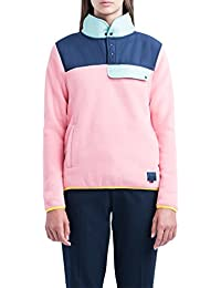 Herschel Fleece Women's Pull Over Strawberry Ice/Peacoat/Lucite Green