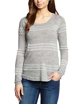 EMU Australia Sarabah Wrap Women's T-Shirt Grey Marle Large