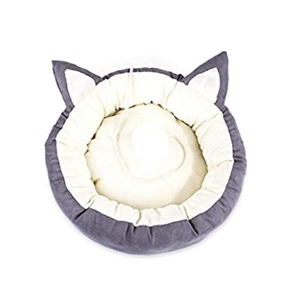 WWWWW Cat Kennel Resistant To Dirt, Bite, Not Easy To Pilling, Not Sticky, Four Seasons, Universal Cat Kennel, Small And Medium-sized Removable And Durable, Non-slip Pet Nest (54 * 40 * 13CM) Pet bed from WWWWW