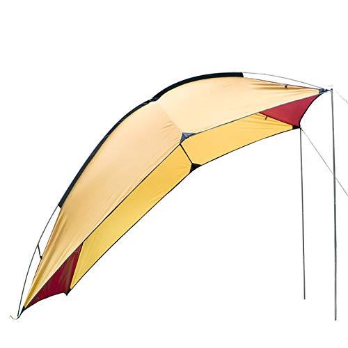 J.SPG Zelt im Freien Tragbar Camping Schwanzzelt Selbstfahrer-Tour Barbecue Viele Leute Regenfest...