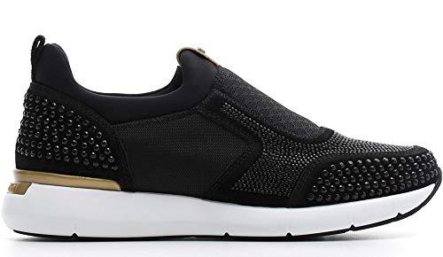 Sneaker NeroGiardini A806591-100 6591 Scarpe Sportive Donna con Strass 37