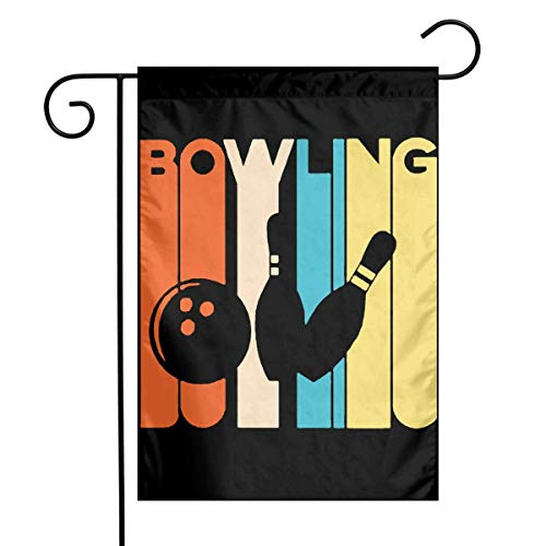 Bowling Tabelle (ghfghgfghnf Vintage Bowling Garden Flag House Banner for Party Yard Home Outdoor Decor)