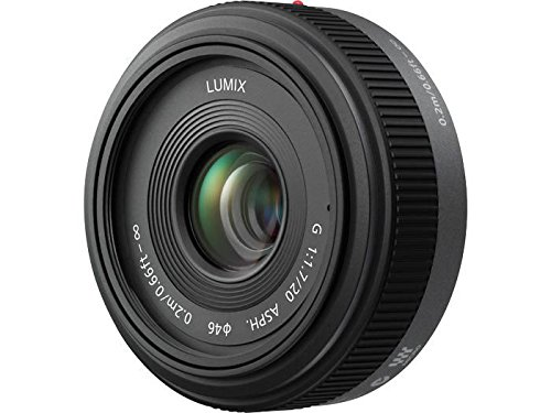 Panasonic Lumix G h-h020 20 mm f/1,7 Aspherical Pancake Objektiv für Micro Four Thirds austauschbar Digital SLR Kameras Panasonic Lumix Digital Slr